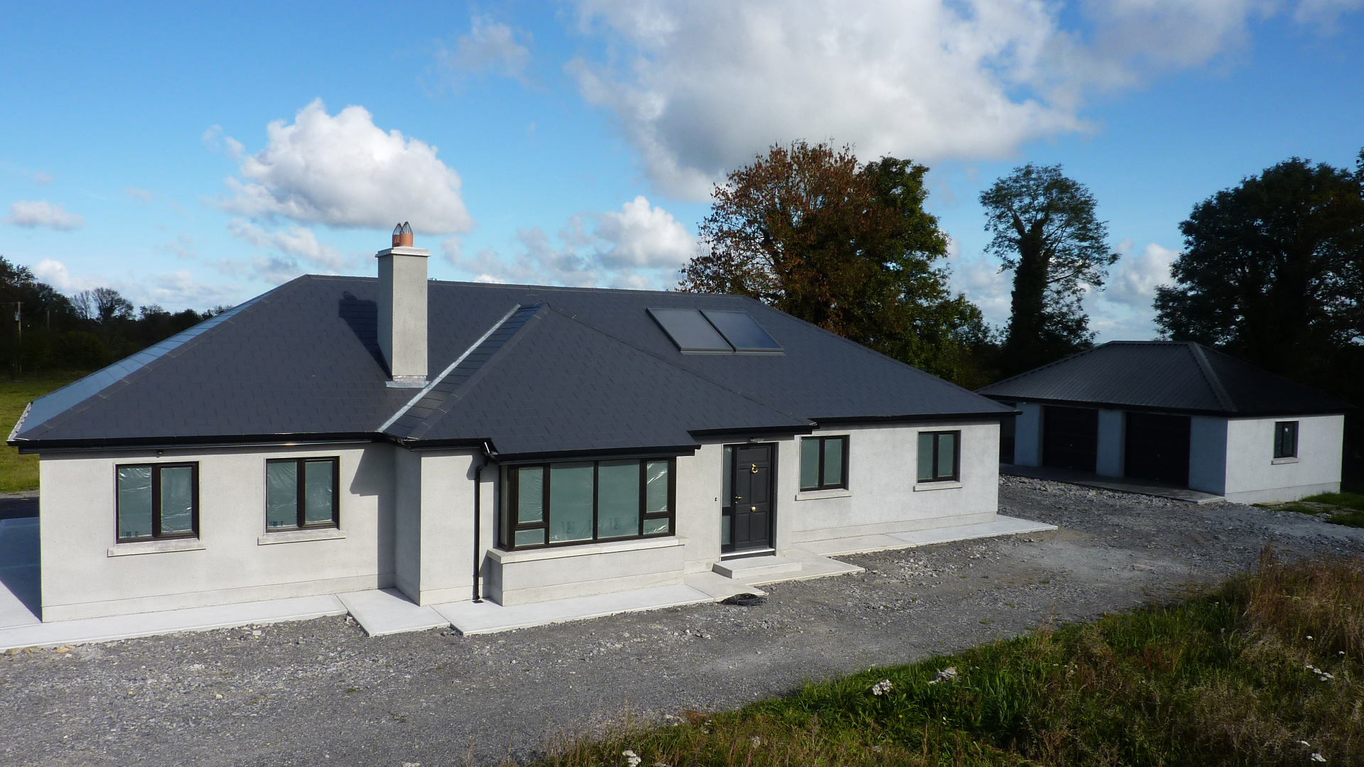 Modern irish houses for Modern home plans with cost to build