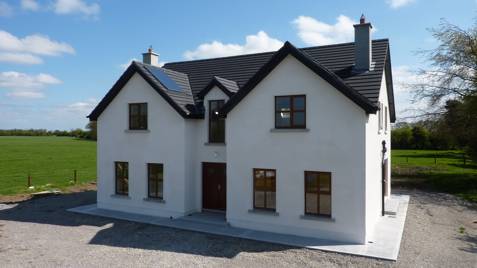 One and half story house plans ireland for Irish house plans