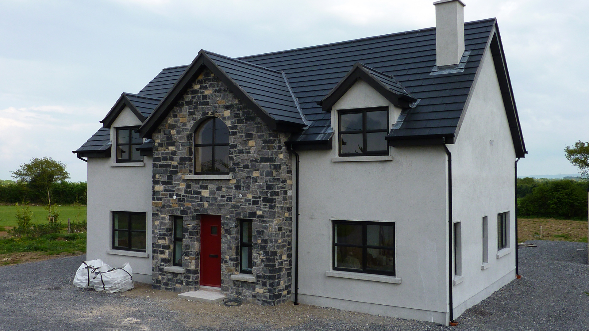 one and half story house plans ireland