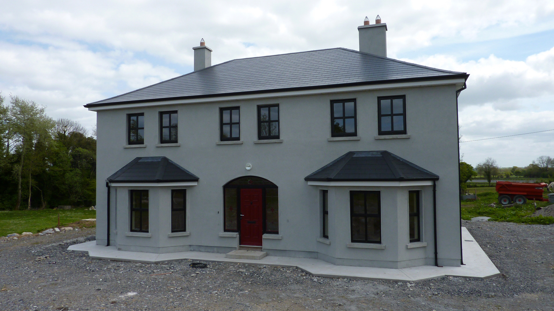 Traditional 2 story house plans ireland for Traditional 2 story house